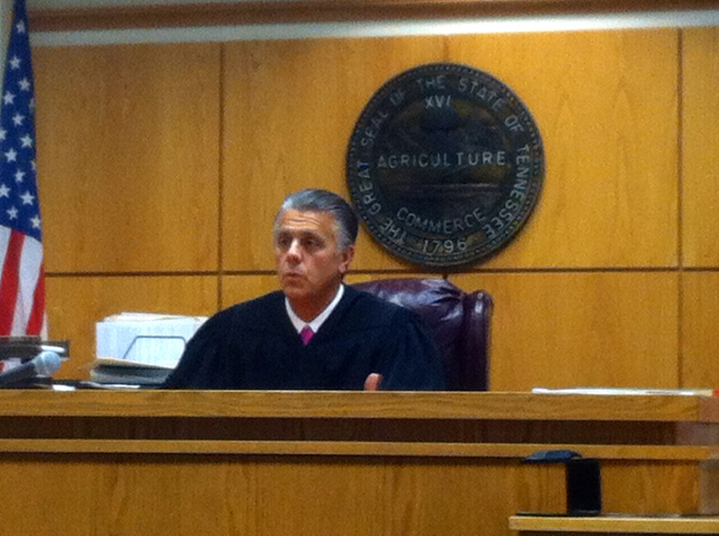 JUDGE HEADRICK PRESIDING