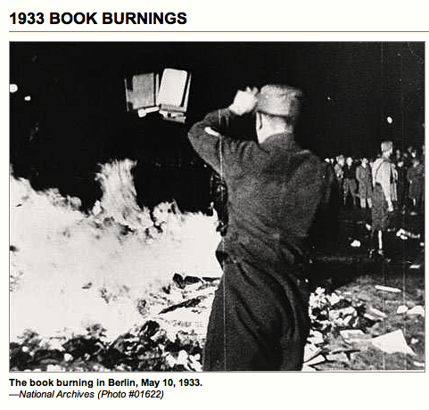 """BIG LICKER"" BOOK BURNING"