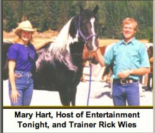 RICK WIES AND MARY HART