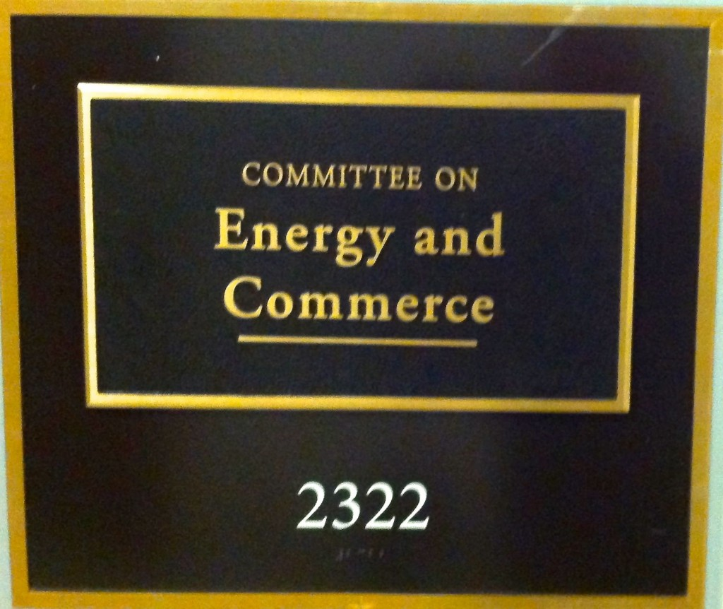THE ENERGY AND COMMERCE HEARING ROOM