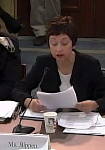 TERESA BIPPEN, FOSH PRESIDENT TESTIFYING BEFORE CONGRESS ON NOVEMBER 13, 2013