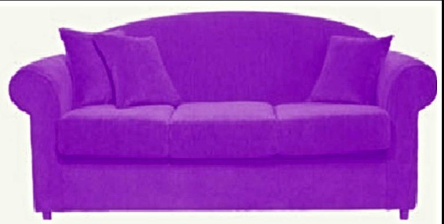 THE FAMOUS PURPLE COUCH