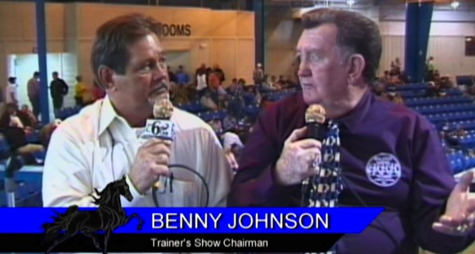 TRAINERS SHOW BOYZ SHOW CHAIRMAN BENNY JOHNSON