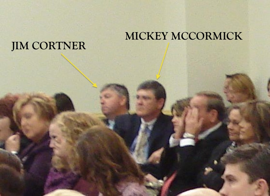 PSHA CHAIRMAN JIM CORTNER AND WHTA BOYZ  PRESIDENT MICKEY MCCORMICK AT NOV 13, 2013 CONGRESSIONAL HEARING