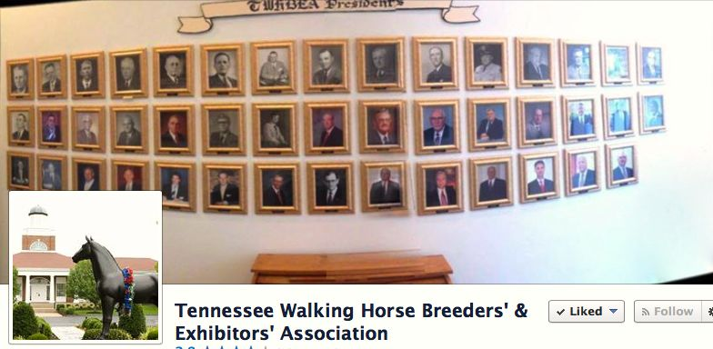PICTURES OF TWHBEA PRESIDENTS IN HEADQUARTERS AT LEWISBURG, TN