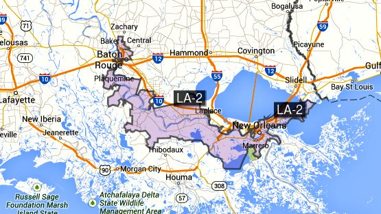 2ND CONGRESSIONAL DISTRICT OF LOUISIANA