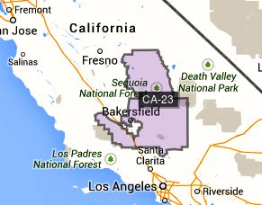 23RD CALIFORNIA CONGRESSIONAL DISTRICT REPRESENTED BY KEVIN MCCARTHY