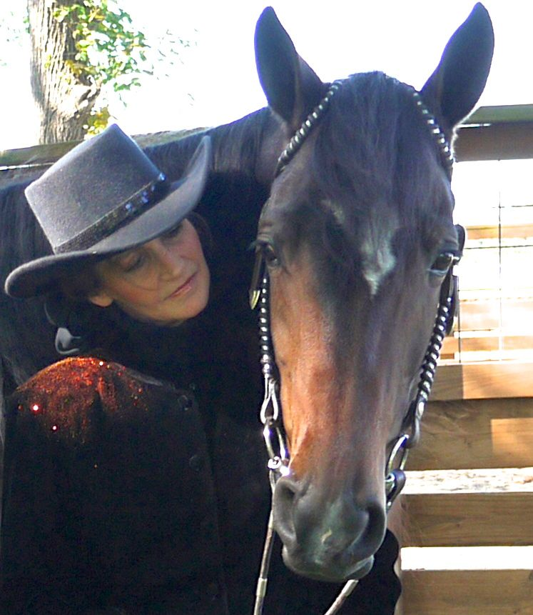 """CORI"" AND JEANNIE MONTGOMERY, ORGANIZER, ALL AMERICAN WALKING HORSE ALLIANCE"