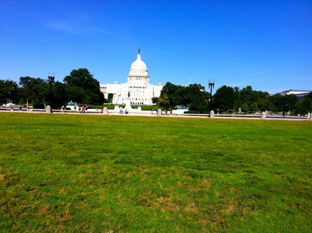"LOCATION OF THE ""WALK ON WASHINGTON"" BY THE ALL AMERICAN WALKING HORSE ALLIANCE"