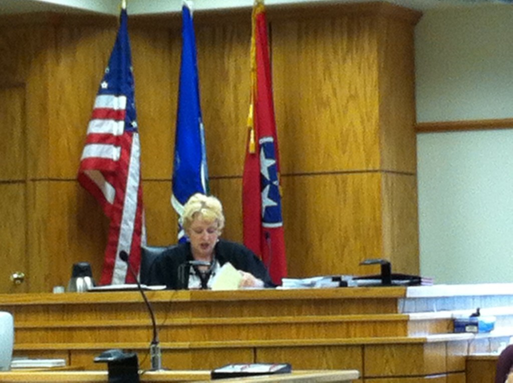 BLOUNT COUNTY CIRCUIT JUDGE TAMMY HARRINGTON