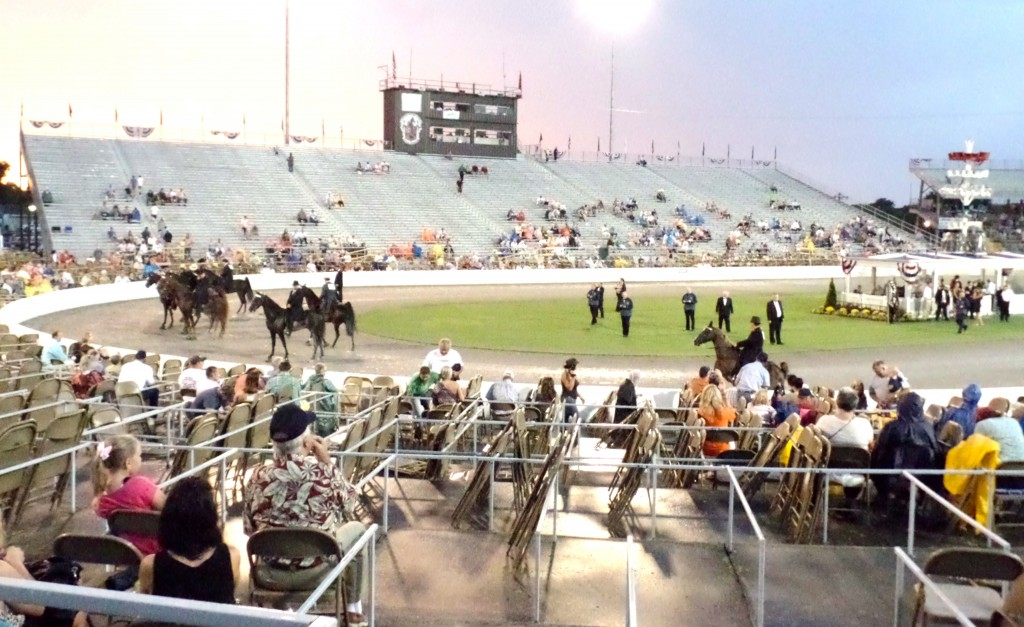 WEST GRAND STANDS, STAKE NIGHT, AUG. 23, 2014
