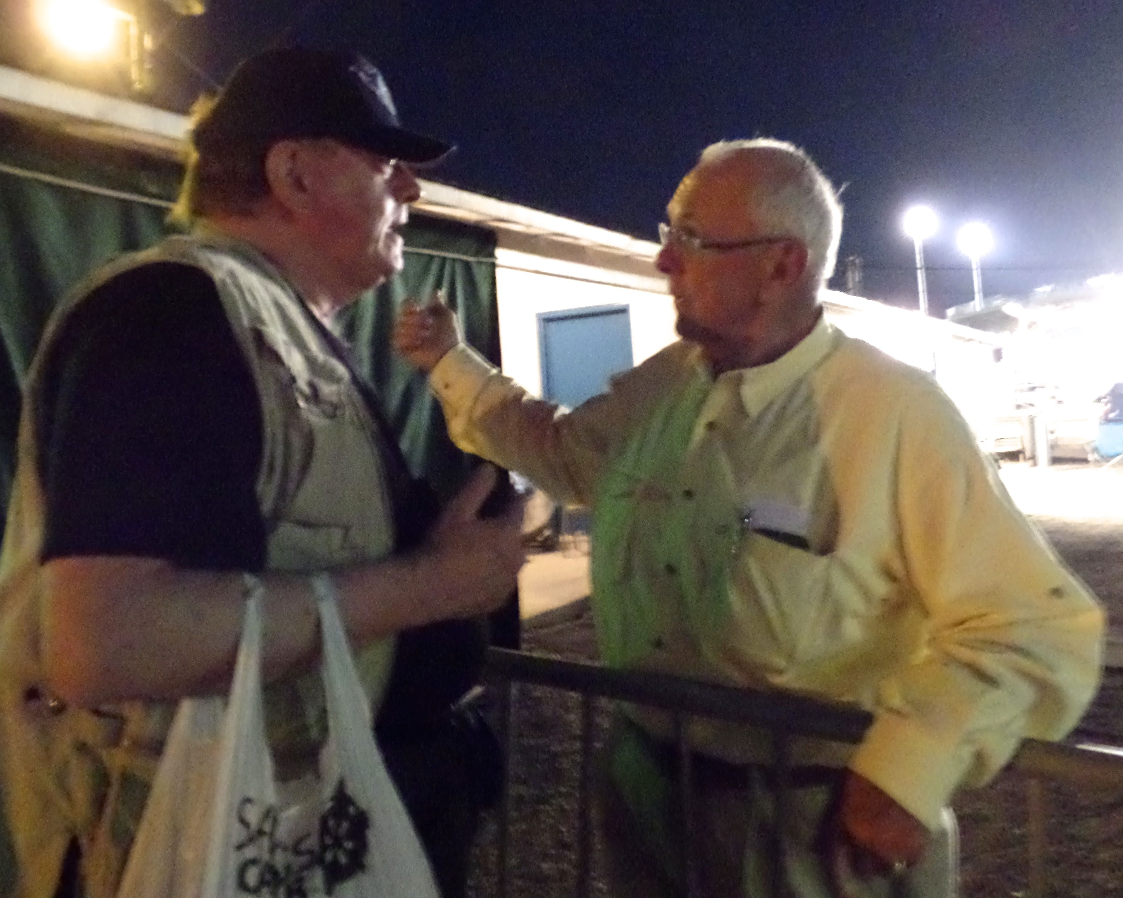 CCABLAC Animal Welfare Advocate AND 'VAC' SPOKESPERSON Mr. Tom Blankenship COMPARE NOTES ON AUG. 29, 2014