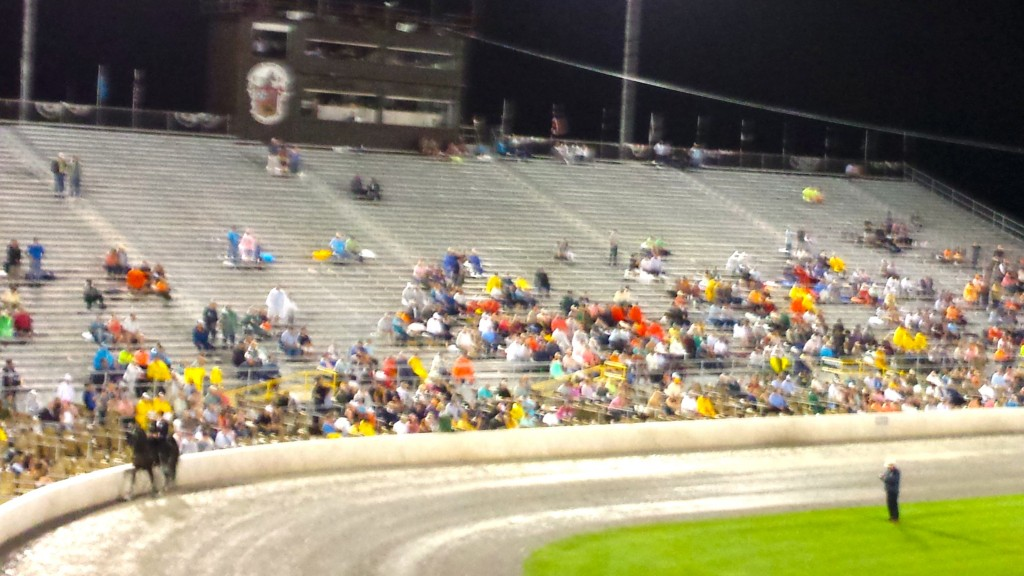 WEST GRAND STANDS - 2014 WORLD GRAND CHAMPIONSHIP
