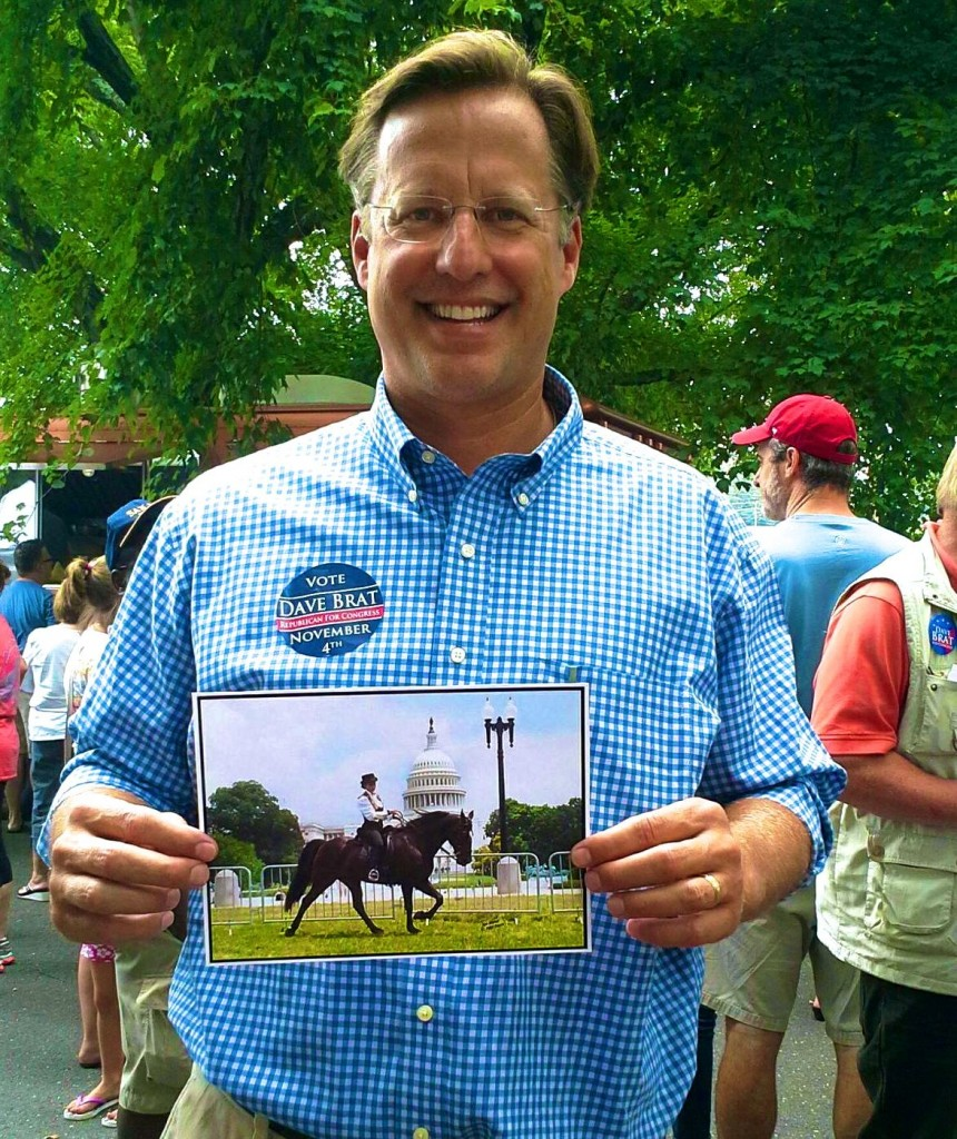 ENTHUSIASTIC VIRGINIAN SUPPORTING DAVE BRAT FOR CONGRESS