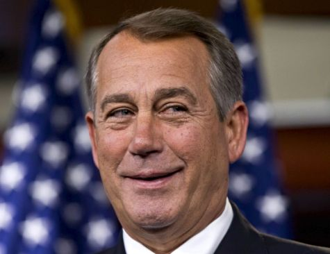 SPEAKER OF THE HOUSE OF REPRESENTATIVES JOHN BOEHNER  (R-OH)