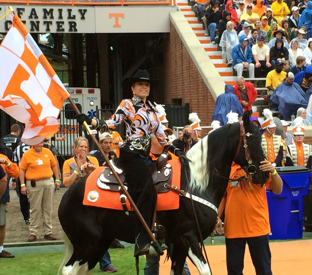 "BROOKE DALY UP ON ""ROSE"" AT 2014 UNIVERSITY OF TENNESSEE HOMECOMING"