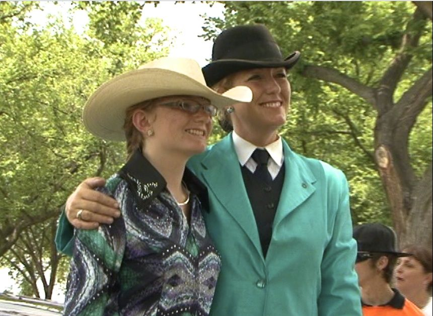 SIXTH GENERATION NORTH CAROLINA EQUESTRIAN FAMILY - AERIAL AND MIKAL SPOONER