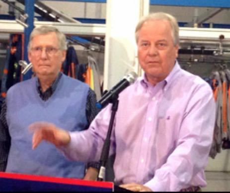 CONGRESSMAN ED WHITFIELD (R-KY) CAMPAIGNING HARD FOR SENATOR MITCH MCCONNELL (R-KY)