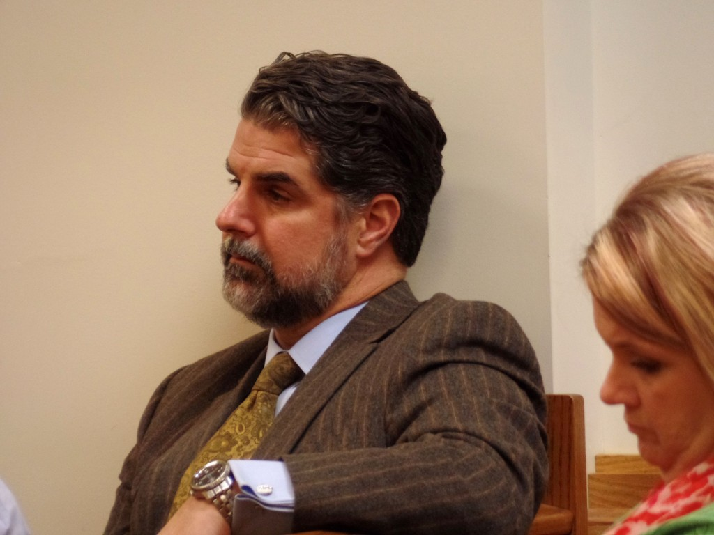 ROB WHITE,  DEFENSE ATTORNEY FOR LARRY JOE WHEELON OBSERVING PRELIMINARY HEARING