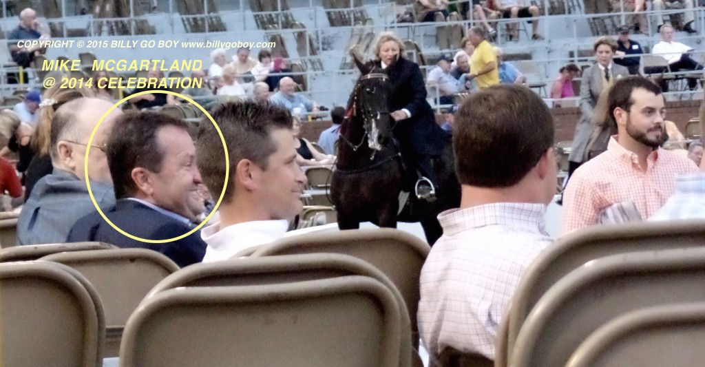 APPELLANT MIKE MCGARTLAND AT 2014 TENNESSEE WALKING HORSE NATIONAL CELEBRATION