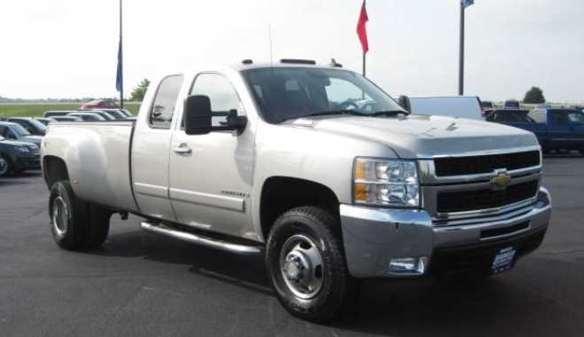 CHEVROLET 2500 DUALLY EXTENDED CAB (3/4 TON)