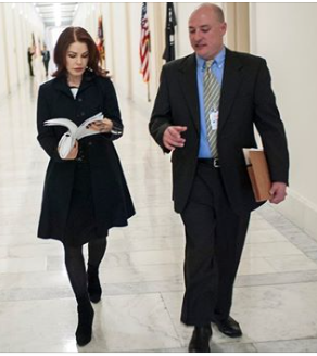 MARTY IRBY (WHITFIELD AIDE) AND PRISCILLA PRESLEY LOBBYING FOR PAST ACT