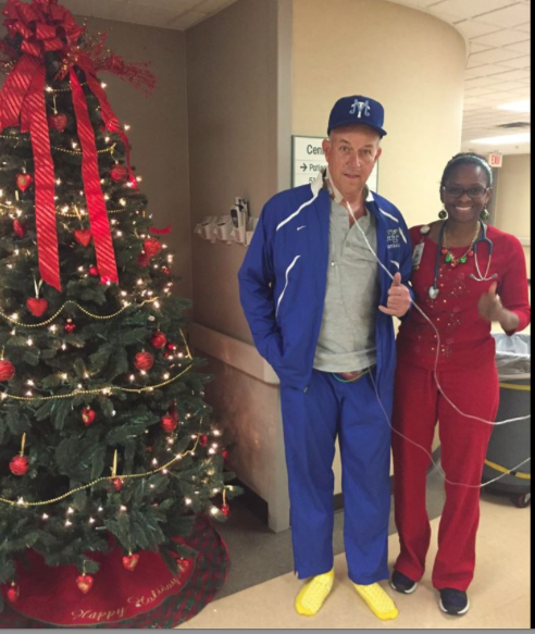 Mr. Steve Smith Decked Out in MTSU Garb Wish the MTSU Blue Raiders Success In The Dec. 24, 2-15