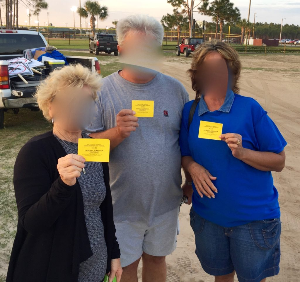 Citizens Campaign Animal Welfare Advocates Threatened With Arrest By Mr. Todd Fisher, Officer and Director of Gulf Charity Celebration Association, Inc.