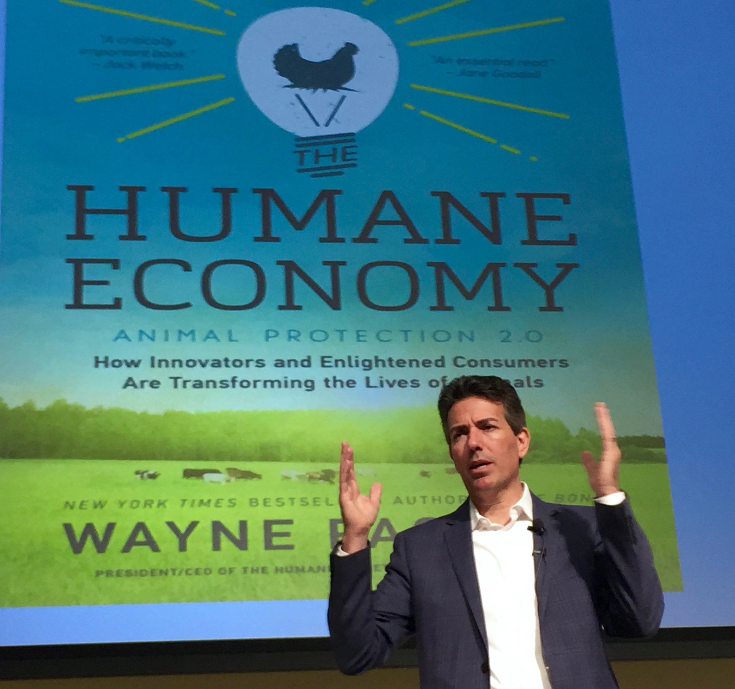 New York Times Best Selling Author Mr. Wayne Pacelle