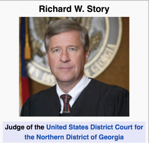 U. S. District Court Judge RIchard W. Story, Northern District of Georgia