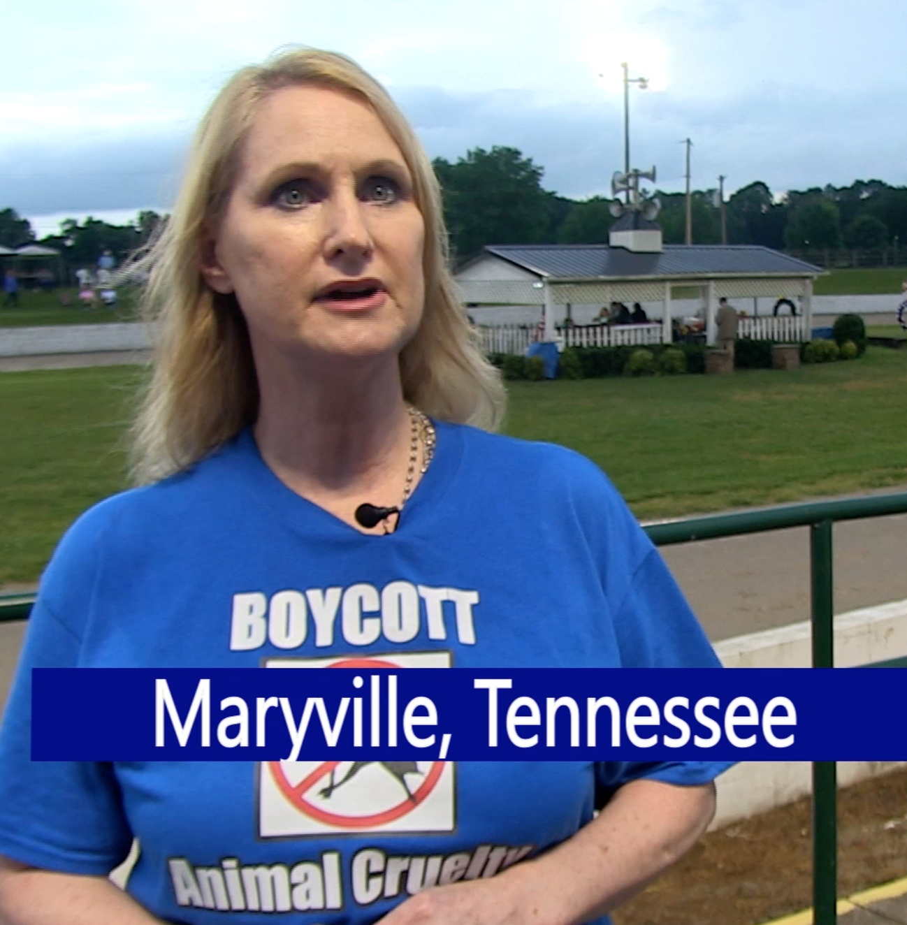 "Ms. Laura Ousley, Citizens Campaign Against ""Big Lick"" Animal Cruelty"