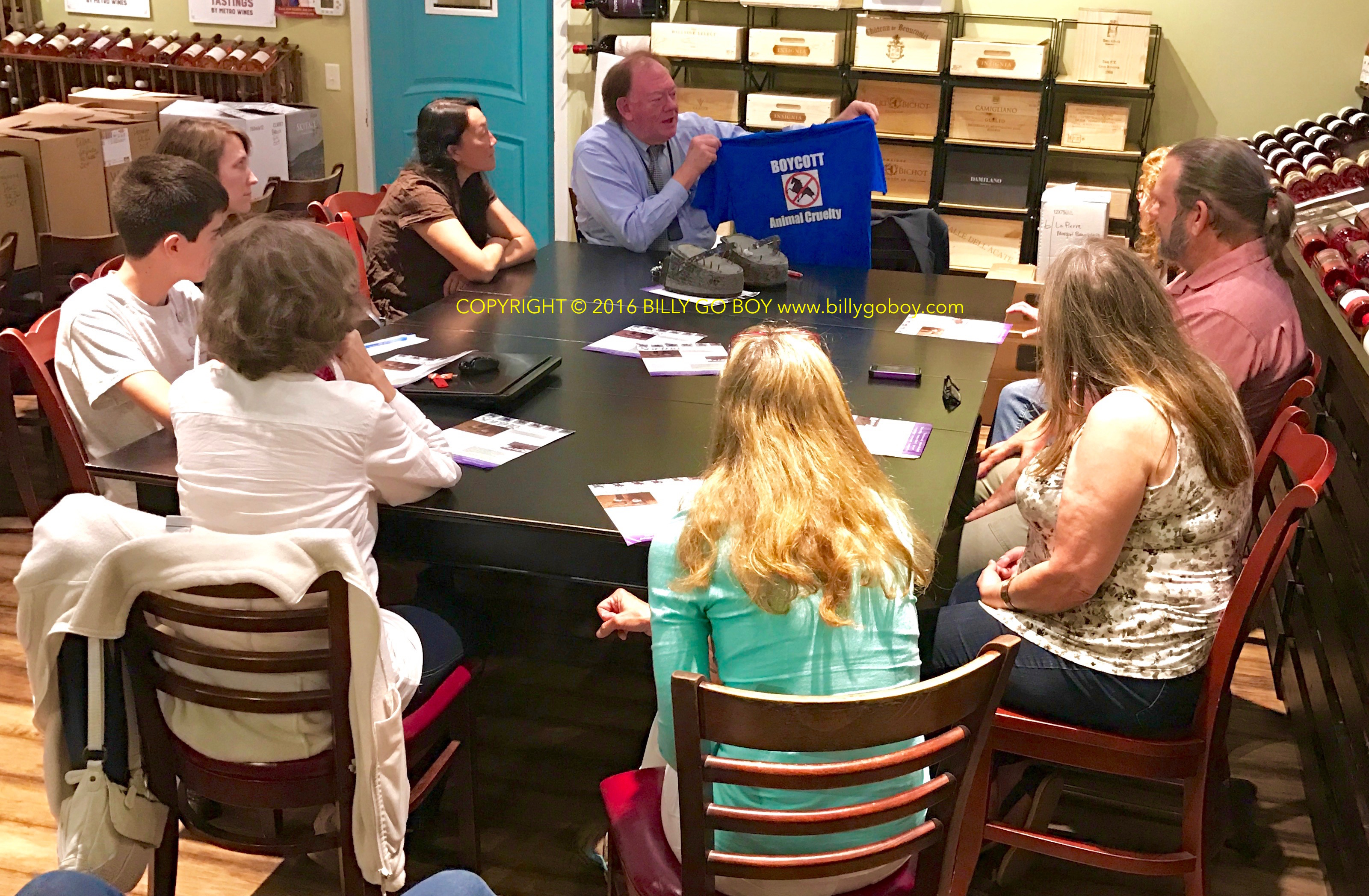 CCABLAC Meets With Animal Welfare Advocates With Asheville Voice for Animals in Meet-Up Meeting